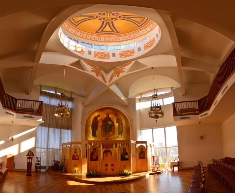 Панорамне фото каплиці